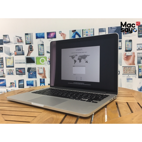 [프리미엄중고]MBP 13-Retina Mid 2014 2.6GH intel Core i5 / 8GB / 256 SSD